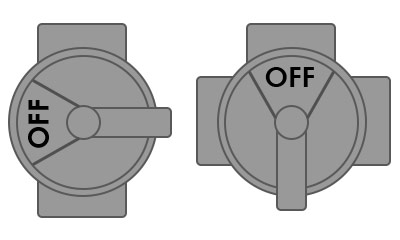 Diverter/Jandy pool valves